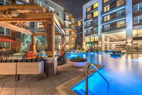 Resort-Inspired Pool at Windsor by the Galleria, Dallas, 75240