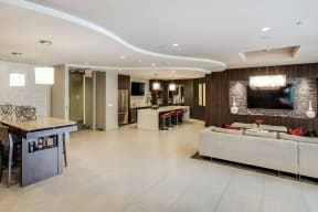 Resident Lounge With Kitchen at South Park by Windsor, California, 90015