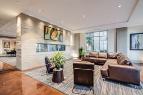 Impressive Lobby With Wi-Fi at Crescent at Fells Point by Windsor, Baltimore, 21231