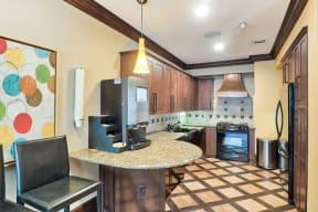 Coffee Bar and Hospitality Station at Windsor Lofts at Universal City, 4055 Lankershim Blvd., CA