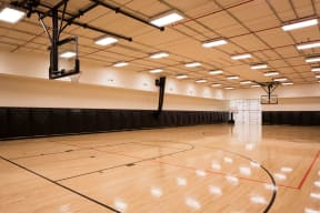 Full-Sized Indoor Basketball Court at The Aldyn, New York, 10069