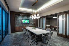 Private Conference Room at Windsor Oak Hill, 6701 Rialto Blvd, Austin