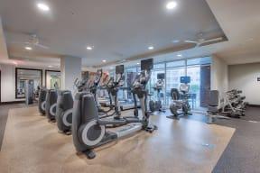 Cardio Equipment in Fitness Center at The Ridgewood by Windsor, 4211 Ridge Top Road, VA