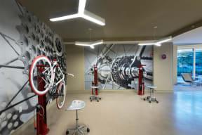 On-Site Bike Repair Stations at Windsor at Cambridge Park, 160 Cambridge Park Drive, Cambridge