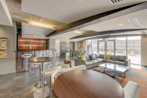 Large Clubhouse with Kitchen and Game Lounge at The Manhattan, 1801 Bassett Street, CO