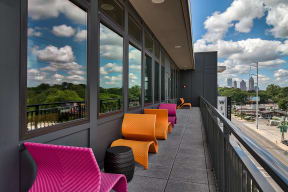 Sky Lounge with Outdoor Balcony at Morningside Atlanta by Windsor, Georgia, 30324