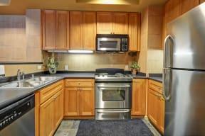 Spacious Kitchen with Pantry Cabinet at Villa Montanaro, 94523