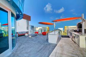 Grilling Station at Boardwalk by Windsor, Huntington Beach, CA