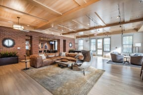 Plush Lounge Space in Clubhouse at Jack Flats by Windsor, 1000 Stone Place, MA