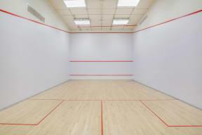 Squash Court at The Aldyn, 60 Riverside Blvd., NY