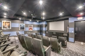 Movie Screening Room at Crescent at Fells Point by Windsor, 951 Fell Street, Baltimore