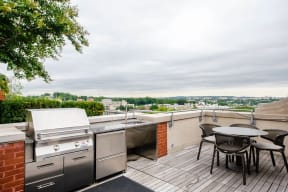 Barbecue And Grilling Station at The Woodley, 2700 Woodley Road, NW, Washington, District of Columbia