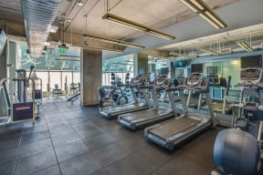 State-of-the-Art Fitness Center at Renaissance Tower, 501 W. Olympic Boulevard, Los Angeles