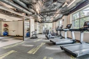 24-Hour Fitness Center at Tera Apartments, Washington, 98033