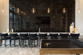 SMART TV lounge and breakfast bar at Metro West, Texas, 75024