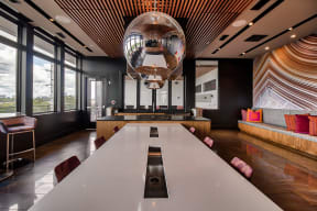Demonstration Kitchen in Sky Lounge at Morningside Atlanta by Windsor, 1845 Piedmont Ave NE, Atlanta