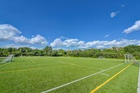 Sports Fields near Windsor Village at Waltham, Waltham, Massachusetts