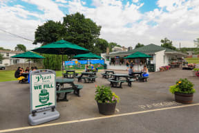 Pizzi Farms Ice Cream Stand near Windsor Village at Waltham, 02452, MA
