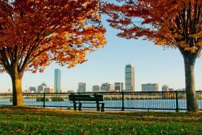 Views of Boston from Memorial Drive at Windsor near Cambridge Park, 160 Cambridge Park Drive, MA