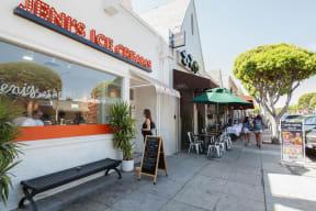 Ice Cream from Jeni's near Windsor at Hancock Park, Los Angeles, 90004
