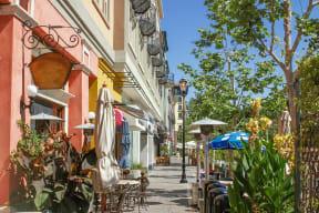 Santa Row is Less Than 5 Miles from Pavona Apartments, 760 N. 7th Street, San Jose
