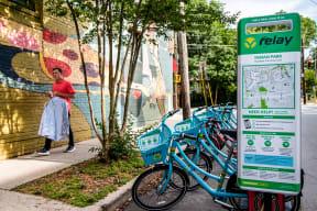 Bike Sharing at Windsor Old Fourth Ward, Atlanta, GA