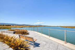 Water views surrounding community at Blu Harbor by Windsor, Redwood City, 94063