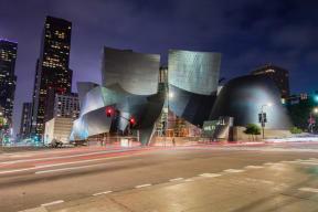Walt Disney Concert Hall near South Park by Windsor, 939 South Hill Street, Los Angeles