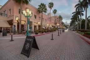 Mizner Park Shopping Mall near Allure by Windsor, Boca Raton, FL