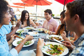Multiple Dining Options Nearby at The Ridgewood by Windsor, Fairfax, VA