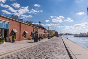 Close to Baltimore's Best Shopping, Dining and Entertainment at Crescent at Fells Point by Windsor, Baltimore, MD