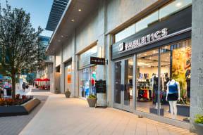 Luxurious shops abound near Metro West, Plano, Texas