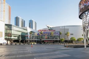 Staples Center Is Just Blocks Away from South Park by Windsor, Los Angeles, California