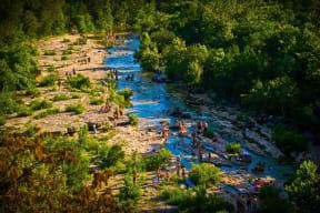 Swim At Barton Creek near Windsor Oak Hill, Austin, Texas