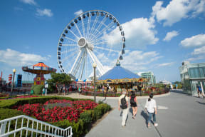 Navy Pier Area Offers Endless Entertainment Options at Flair Tower, 222 W. Erie Street, IL