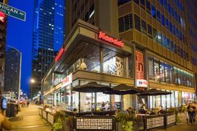 Nutella Café near Flair Tower, 222 W. Erie Street, Chicago