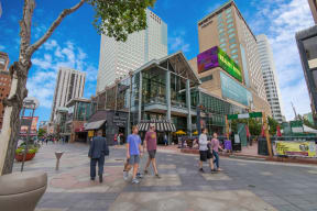 Easy access to 16th Street Mall from The Manhattan, 80202, CO