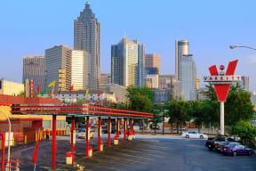 Numerous Fine Dining Options in Neighborhood at Windsor Old Fourth Ward, Atlanta, GA
