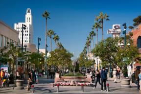 Third Street Promenade Dining and Shopping near Sea Castle, 1725 Ocean Front Walk, Santa Monica