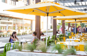 Many nearby restaurants with outdoor seating around Metro West, 75024, TX