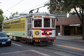 One Block from M-Line Trolley Stop at The Monterey by Windsor, Texas, 75204