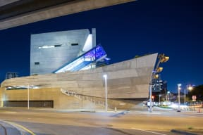 Perot Museum Is Nearby at Glass House by Windsor, Dallas, Texas