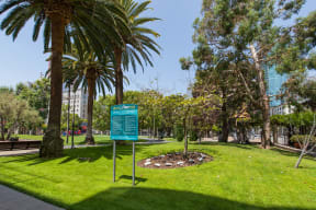 Grand Hope Park Next Door to Renaissance Tower, California, 90015