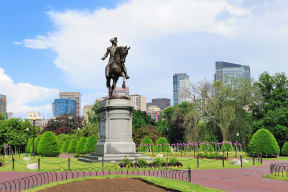 Easy Access To Most Popular Boston Destinations at Waterside Place by Windsor, Boston, Massachusetts