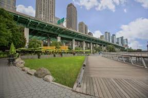 Be Close to Hudson Park at The Aldyn, 60 Riverside Blvd., NY
