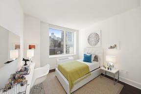 Furnished bedroom at The Aldyn