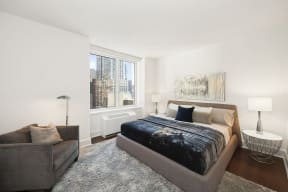 Spacious Master Bedroom at The Aldyn