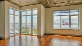 Panoramic views of Baltimore's Harbor at Crescent at Fells Point by Windsor, 951 Fell Street, Baltimore