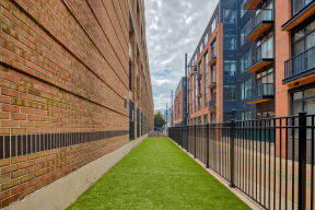 Dog run  at Crescent at Fells Point by Windsor, 951 Fell Street, Baltimore