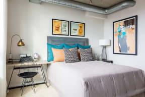 Spacious bedroom at IO Piazza